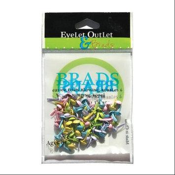Eyelet Outlet 4mm Round Brads 70/Pkg-Spring