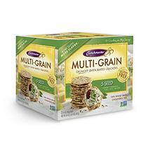 Crunchmaster 5 Seed Multigrain Cracker (10 oz, 2 ct.)
