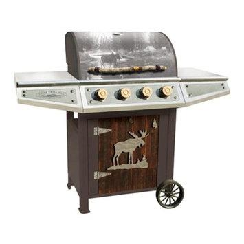 Teton Grill Co. Classic Series Cabin Gas Grill