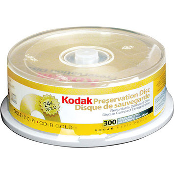 Kodak 21125 52x Gold Preservation Write-once Cd-r