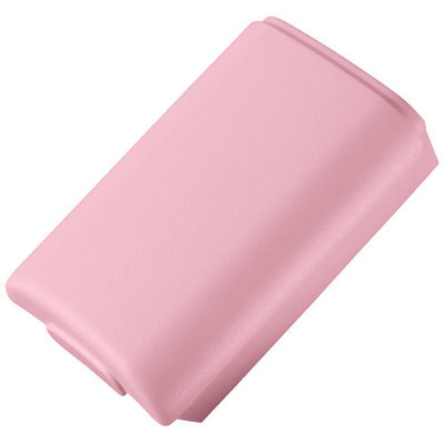 Microsoft Corp. Microsoft B4U-00022 Rechargeable Controller Battery Pack for Xbox 360 - Pink