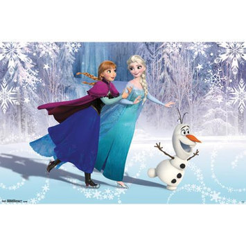 Frozen Poster, Ice Skating by Trends International