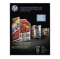 Hewlett Packard Printing & Imaging HP Tri-fold Color Glossy Brochure