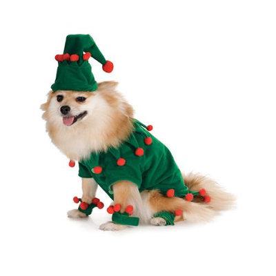 Elf Christmas Dog Pet Halloween Costume size Small