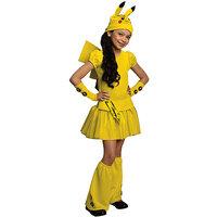 Rubies Costume Co R886700-L Girls Pokemon Pikachu Costume Size Small