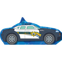 Tonka Police Car Standee