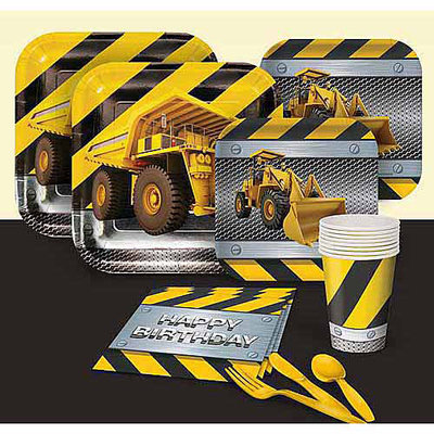 Construction Zone Basic Party Pack