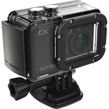 Activeon - Cx Hd Action Camera - Onyx Black