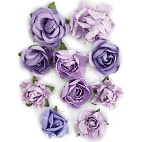 Kaisercraft Paper Blooms 1in To 1.5in - 10/Pkg