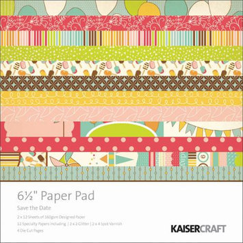Kaisercraft Save The Date Paper Pad 6.5