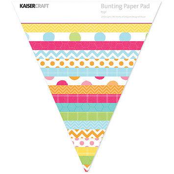 Kaisercraft Bunting Shaped Paper Pad-Pop!