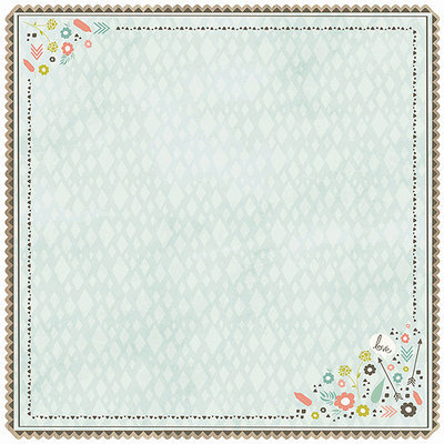 Kaisercraft NOTM443373 - Bow & Arrow Die-Cut Cardstock 12