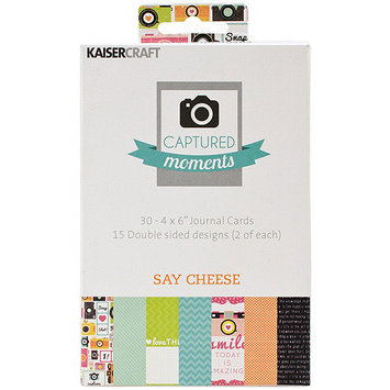 Kaiser Craft Kaisercraft CM307 Captured Moments Double-Sided Cards 6 in. X4 in. 30-Pkg-Take Off