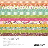 Kaisercraft Summer Breeze Paper Pad, 6.5