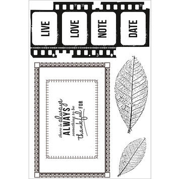 Kaiser Craft Kaisercraft CS146 Art Of Life Clear Stamps 6.25 in. X4 in. - 16cm X 10cm