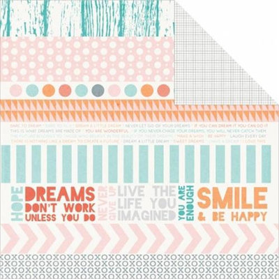 Kaisercraft NOTM439651 - Dream Big Double-Sided Cardstock 12