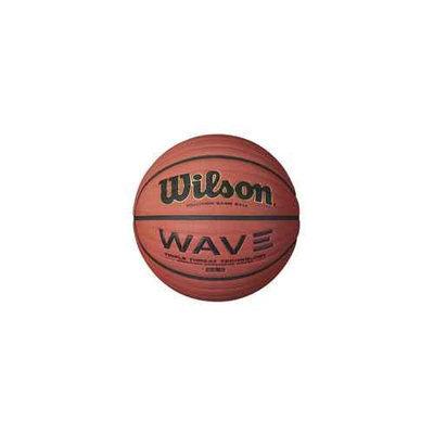 Wilson Sports Women's Indoor Game Basketball with Wave Design Wilson NCAA
