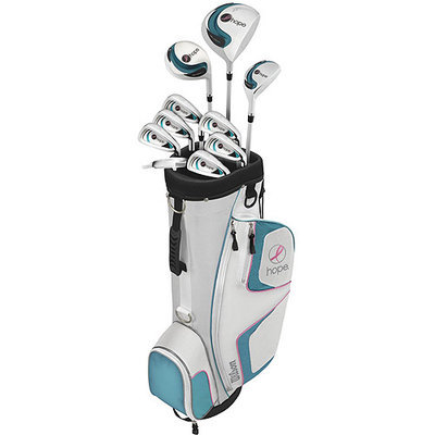 Wilson Hope Golf Set - Womens Right Handed Complete Club Set w/ Bag