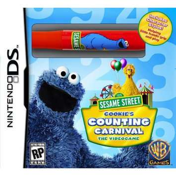 Whv Games Sesame St: Cookie's Counting Carnival w/ Stylus- Nintendo DS