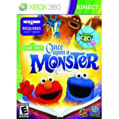 Warner Brothers Xbox 360 - Sesame Street: Once Upon A Monster - By Warner Bros