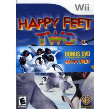 Warner Brothers Happy Feet Two Wii with BONUS DVD
