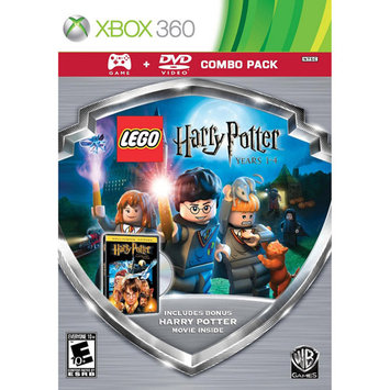 Eidos Lego Harry Potter1-4 Game/hp Sorcerers Movie Dvd [ws] Combo Pk