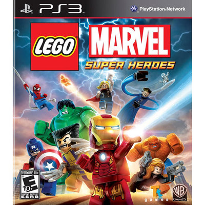 Warner New Media Warner Bros. 1000381327 Lego Marvel Super Heroes Ps3