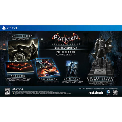 Warner Brothers Batman: Arkham Knight - Limited Edition - Playstation 4