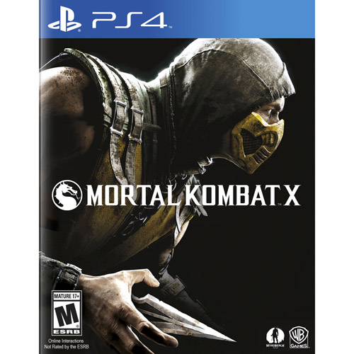Warner Brothers WB Mortal Kombat X - Fighting Game - PlayStation 4