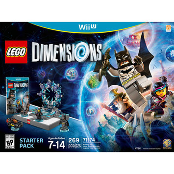 Warner Brothers Lego Dimensions Starter Pack - Nintendo Wii U