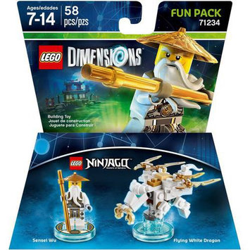 Warner Brothers Wb Games - Lego Dimensions Fun Pack (lego Ninjago: Sensei Wu) - Multi