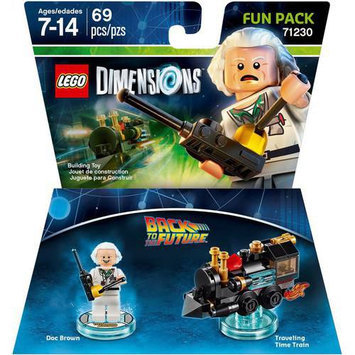 Warner Brothers Wb Games - Lego Dimensions Fun Pack (back To The Future: Doc Brown) - Multi