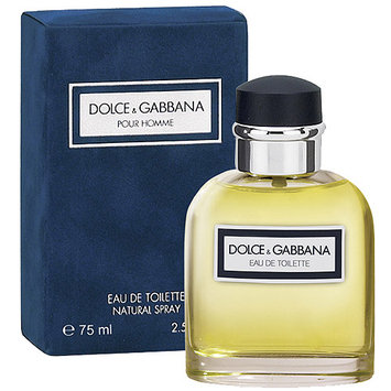 Dolce & Gabbana Pour Homme Eau de Toilette Natural Spray, 2.5 fl oz
