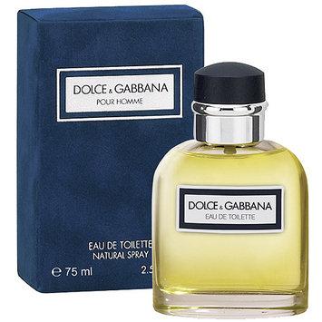 Dolce & Gabbana Pour Homme Eau de Toilette Natural Spray, 2.5 fl oz