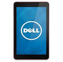 Dell(TM) Venue 8 Android Tablet With 8in. Screen, Intel(R) Atom(TM) Processor, 16GB Storage, Red