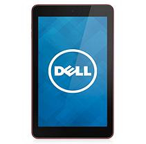 Dell(TM) Venue 8 Android Tablet With 8in. Screen, Intel(R) Atom(TM) Processor, 32GB Storage, Red