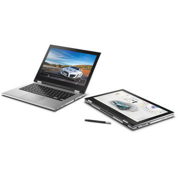 Dell(TM) Inspiron 13 2-in 1 Laptop Computer With 13.3in. LED Backlit Touch Screen 4th Gen Intel(R) Core(TM) i3 Processor, i7347-2550sLV