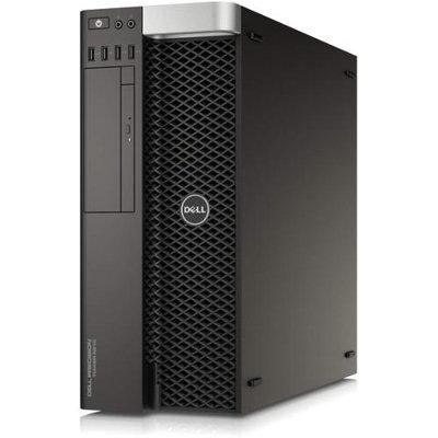 Dell Precision T5810 Tower Workstation - 1 X Intel Xeon E5-1620 V3 3.50 Ghz - 16GB RAM - 1TB Hdd - Dvd-writer - Nvidia Quadro K2200 4GB Graphics - Windows 7 Professional 64-bit (pret5810-20644blk)