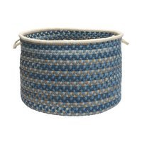 Colonial Mills Spacedyed Wool Round Baskets Size: 14