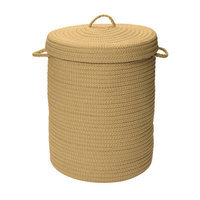 Colonial Mills Simply Home Solid Hamper with Lid