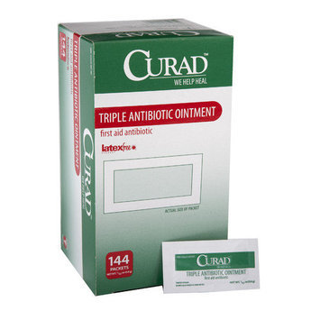 Medline Industries, Inc. Medline Curad Triple Antibiotic Ointment Packets