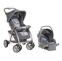 Safety 1st Saunter Travel System in Stratosphere