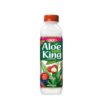 OKF AVK390 Aloe King Grape 500 ml. - Case of 20