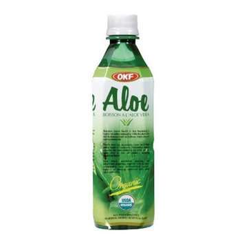 OKF AVK501 Organic Aloe Drink With Pulp 1.5 Liter - Case of 12
