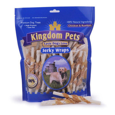 Globalinx Pet Jerky Wrap Dog Treat Quantity: 16-oz