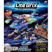 Character Options Lite Brix PD Sea Patrol Construction Set