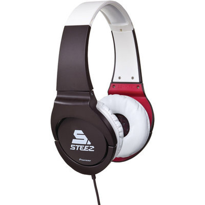Pioneer SE-MJ721I-W Stereo Headphones - Black / White
