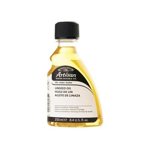 Winsor & Newton 3239723 250ml Water Mixable Linseed Oil
