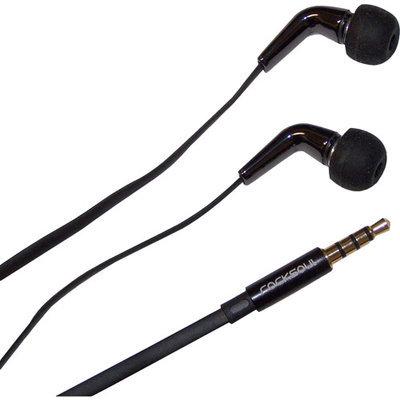 Awa Technology Inc. Rocksoul Aqua and White ER-103101AW Ceramic Stereo Earphone with Mic