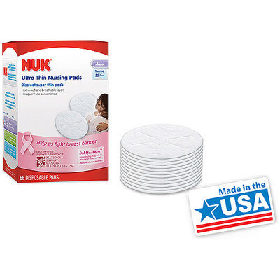 NUK Ultra Thin Nursing Pads - 66 Count
